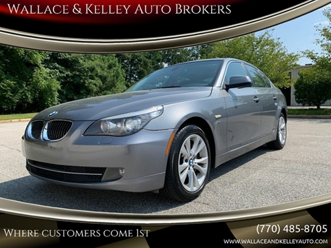 2010 BMW 5 Series for sale in Douglasville, GA