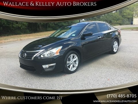 2013 Nissan Altima for sale in Douglasville, GA