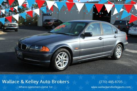 2000 BMW 3 Series 323i for sale at Wallace & Kelley Auto Brokers in Douglasville GA