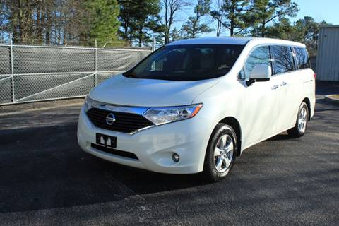 2015 Nissan Quest 3.5 SV for sale at Wallace & Kelley Auto Brokers in Douglasville GA