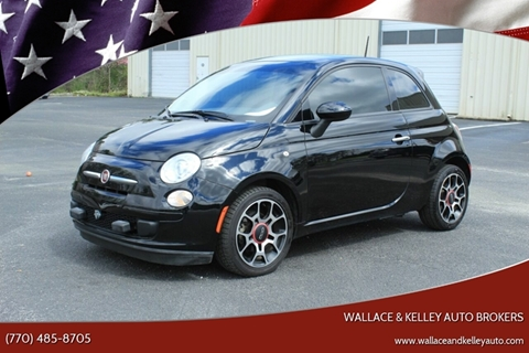 2015 FIAT 500 Pop for sale at Wallace & Kelley Auto Brokers in Douglasville GA