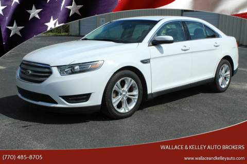 2014 Ford Taurus SEL for sale at Wallace & Kelley Auto Brokers in Douglasville GA