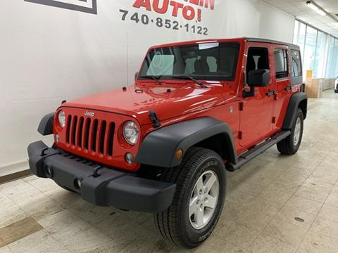 2017 Jeep Wrangler Unlimited for sale in London, OH