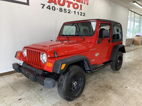 2000 Jeep Wrangler for sale in London, OH