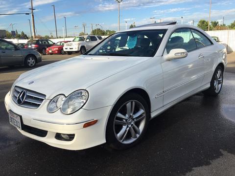 2006 Mercedes-Benz CLK for sale at Dealer Finance Auto Center LLC in Sacramento CA