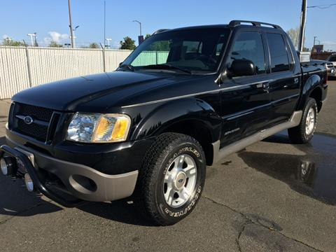 2001 Ford Explorer Sport Trac for sale at Dealer Finance Auto Center LLC in Sacramento CA