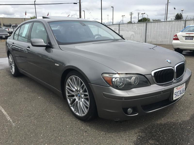 2007 BMW 7 Series for sale at Dealer Finance Auto Center LLC in Sacramento CA
