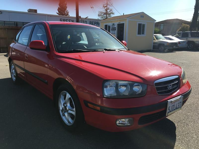 2003 Hyundai Elantra for sale at Dealer Finance Auto Center LLC in Sacramento CA