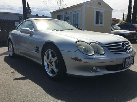 2003 Mercedes-Benz SL-Class for sale at Dealer Finance Auto Center LLC in Sacramento CA