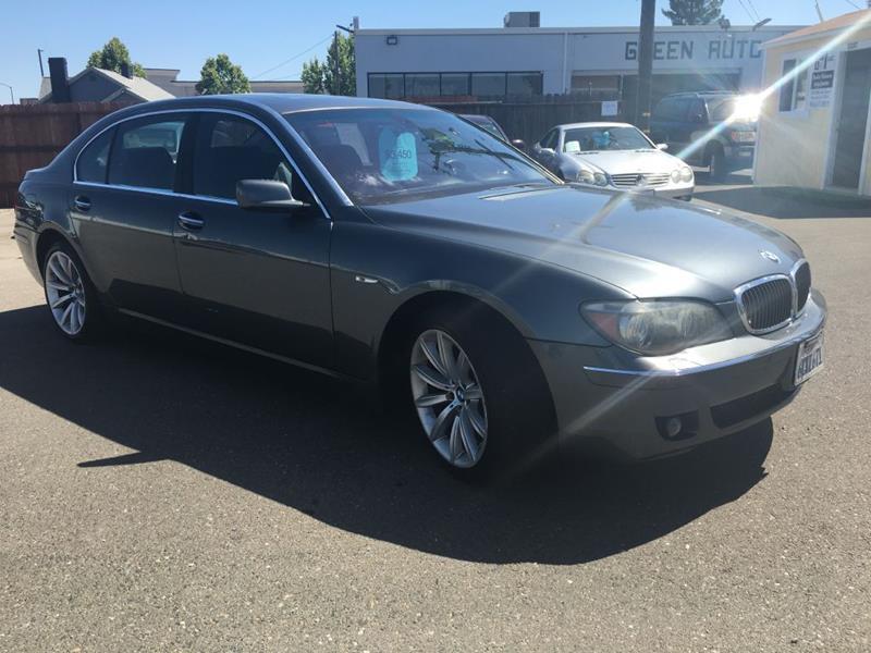 2008 BMW 7 Series for sale at Dealer Finance Auto Center LLC in Sacramento CA