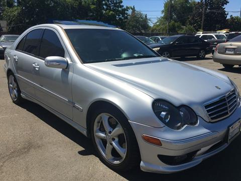 2006 Mercedes-Benz C-Class for sale at Dealer Finance Auto Center LLC in Sacramento CA