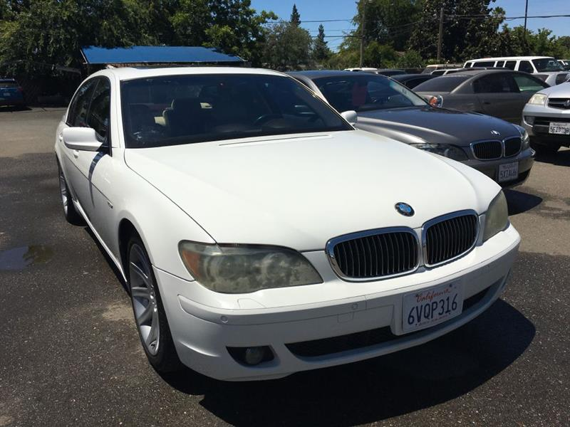 2006 BMW 7 Series for sale at Dealer Finance Auto Center LLC in Sacramento CA