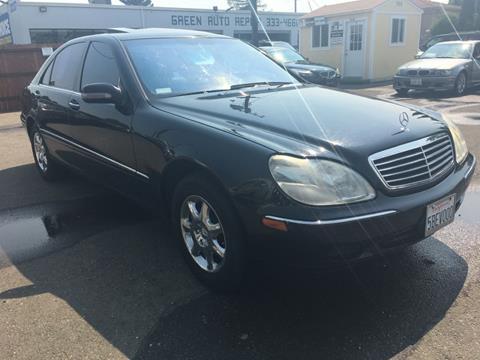 2002 Mercedes-Benz S-Class for sale at Dealer Finance Auto Center LLC in Sacramento CA
