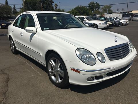 2006 Mercedes-Benz E-Class for sale at Dealer Finance Auto Center LLC in Sacramento CA