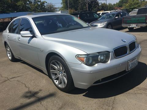 2002 BMW 7 Series for sale at Dealer Finance Auto Center LLC in Sacramento CA
