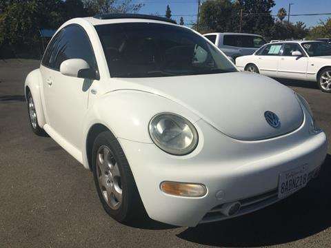 2003 Volkswagen New Beetle for sale at Dealer Finance Auto Center LLC in Sacramento CA