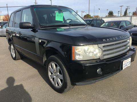 2007 Land Rover Range Rover for sale at Dealer Finance Auto Center LLC in Sacramento CA