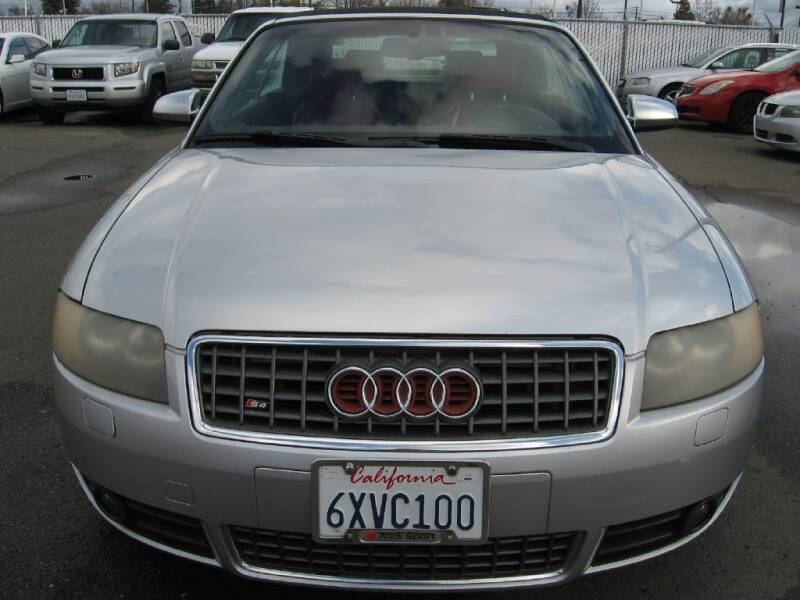 2004 Audi S4 for sale at Dealer Finance Auto Center LLC in Sacramento CA