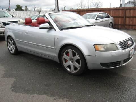 2004 Audi S4 for sale at Dealer Finance Auto Center LLC in Sacramento CA