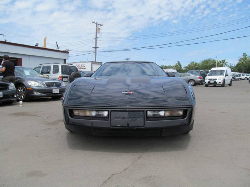 1985 Chevrolet Corvette for sale at Dealer Finance Auto Center LLC in Sacramento CA