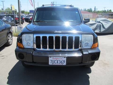 2009 Jeep Commander for sale at Dealer Finance Auto Center LLC in Sacramento CA