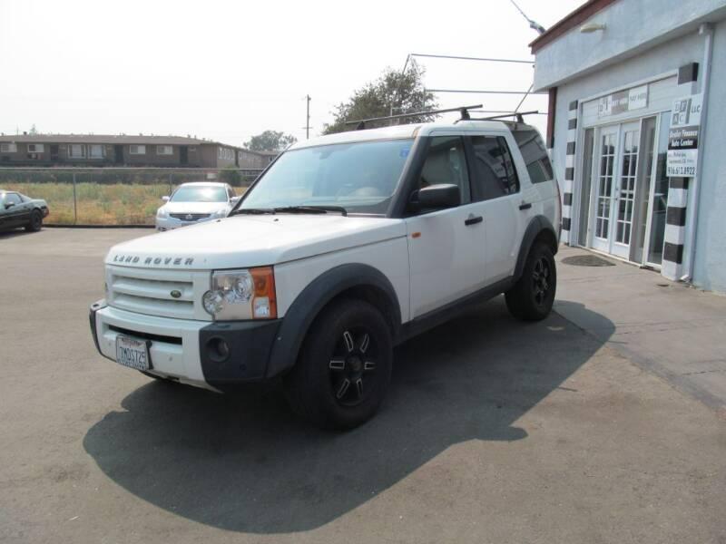 2008 Land Rover LR3 for sale at Dealer Finance Auto Center LLC in Sacramento CA
