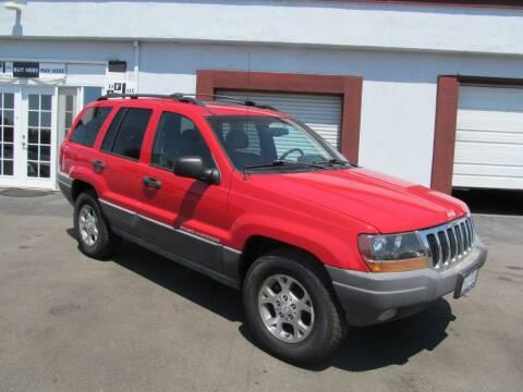 1999 Jeep Grand Cherokee for sale at Dealer Finance Auto Center LLC in Sacramento CA