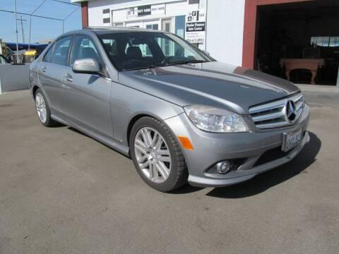 2009 Mercedes-Benz C-Class for sale at Dealer Finance Auto Center LLC in Sacramento CA