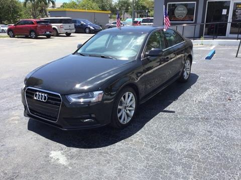 2014 Audi A4 for sale in Oakland Park, FL