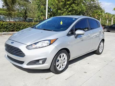 2016 Ford Fiesta for sale at YOUR BEST DRIVE in Oakland Park FL