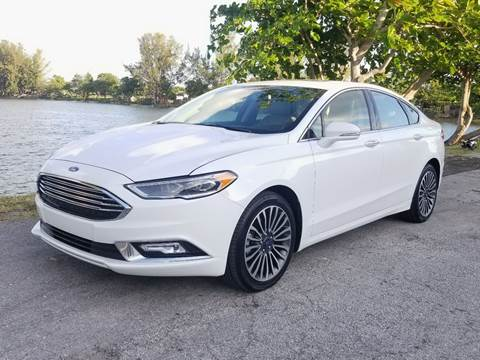 2018 Ford Fusion for sale at YOUR BEST DRIVE in Oakland Park FL