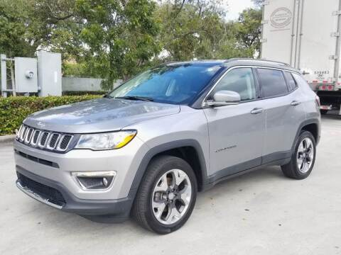 2017 Jeep Compass for sale at YOUR BEST DRIVE in Oakland Park FL