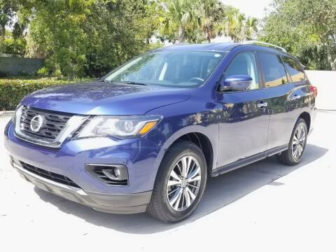 2019 Nissan Pathfinder for sale at YOUR BEST DRIVE in Oakland Park FL