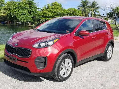 2017 Kia Sportage for sale at YOUR BEST DRIVE in Oakland Park FL
