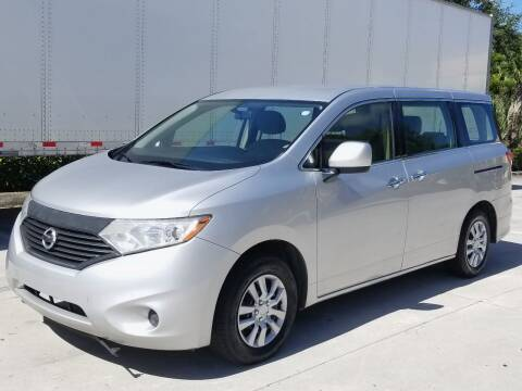 2015 Nissan Quest for sale at YOUR BEST DRIVE in Oakland Park FL