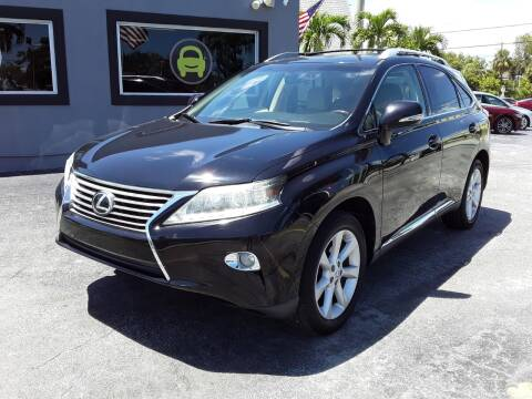 2013 Lexus RX 350 for sale at YOUR BEST DRIVE in Oakland Park FL