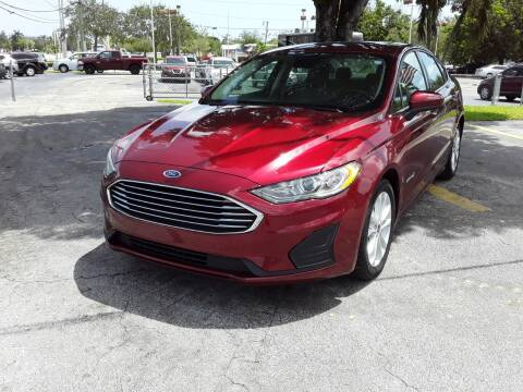 2019 Ford Fusion Hybrid for sale at YOUR BEST DRIVE in Oakland Park FL