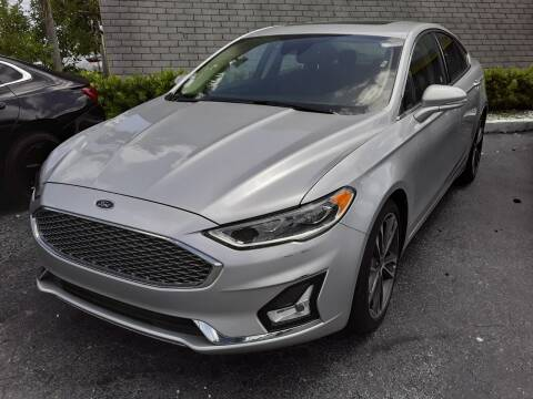 2019 Ford Fusion for sale at YOUR BEST DRIVE in Oakland Park FL