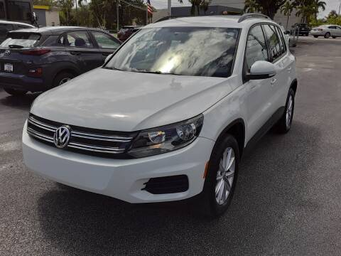 2017 Volkswagen Tiguan for sale at YOUR BEST DRIVE in Oakland Park FL