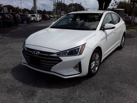 2020 Hyundai Elantra for sale at YOUR BEST DRIVE in Oakland Park FL