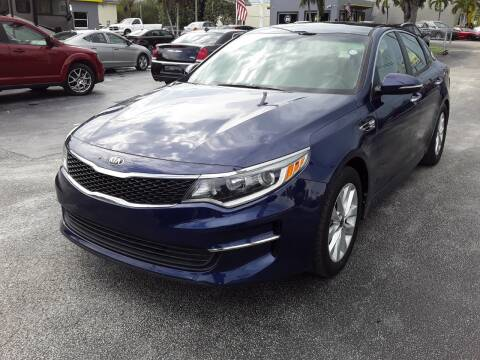 2017 Kia Optima for sale at YOUR BEST DRIVE in Oakland Park FL