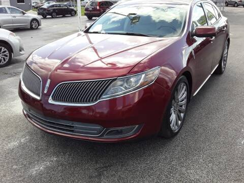 2015 Lincoln MKS for sale at YOUR BEST DRIVE in Oakland Park FL