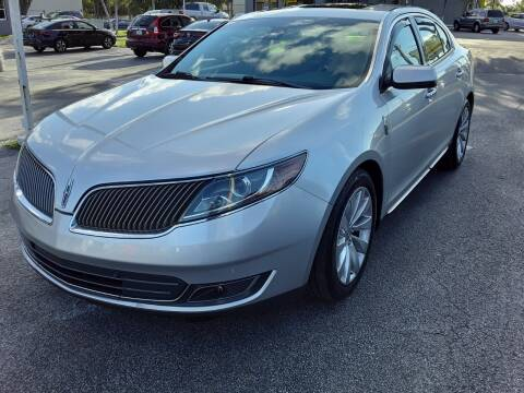 2013 Lincoln MKS for sale at YOUR BEST DRIVE in Oakland Park FL