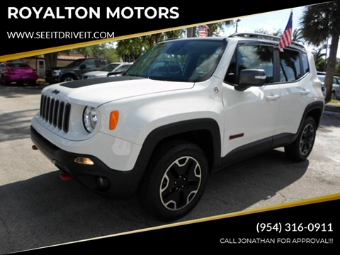 2017 Jeep Renegade for sale in Plantation, FL