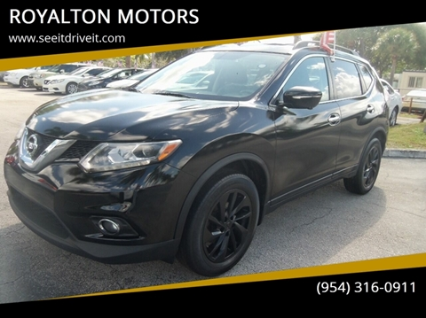 2015 Nissan Rogue for sale in Plantation, FL