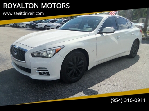 2015 Infiniti Q50 for sale in Plantation, FL