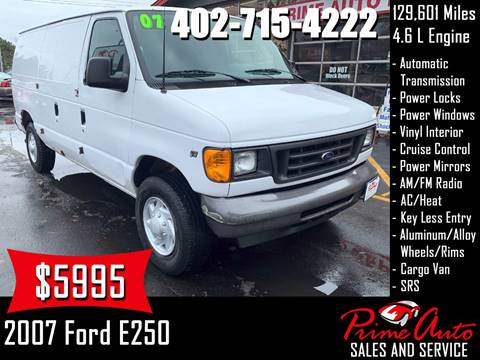 2007 Ford E-Series Cargo for sale in Omaha, NE