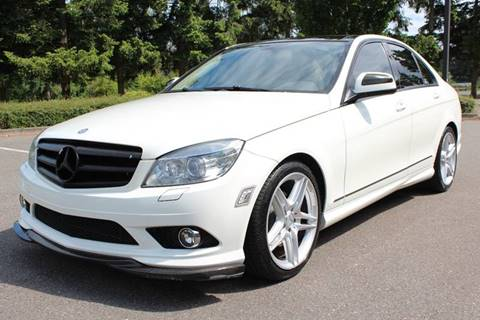 2009 Mercedes-Benz C-Class for sale at Top Gear Motors in Lynnwood WA