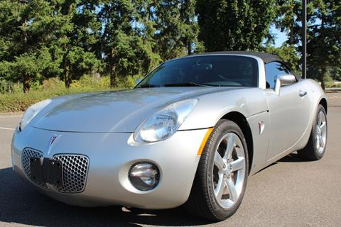 2006 Pontiac Solstice for sale in Lynnwood, WA