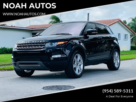 2012 Land Rover Range Rover Evoque for sale in Hollywood, FL